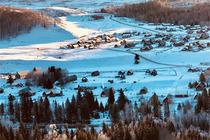 银色梦幻阿勒泰 将军山滑雪、禾木赏雪、乌伦古湖冬捕 五日自由行