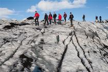 冰岛瓦特纳国家公园一日游 斯卡夫塔山冰川徒步奇幻之旅 体验冰与火之歌墙外世界