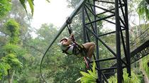 普吉岛丛林飞跃一日游独+家产品+刺激视觉+原子飞车+丛林餐厅+往返接送