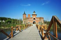 暑期就去 伏尔加庄园的俄罗斯风情伏尔加酒店+早餐门票双人套餐 体验欧式风情!