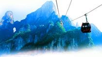 赏武陵全景|挑战🔥玻璃栈道|张家界国家森林公园+魅力湘西+玻璃栈道+天门山