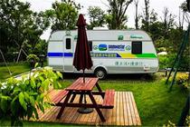 亲子时刻途居扬州国际露营地9米大营地房车1晚(原SMSC国际露营地)