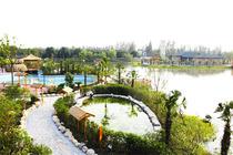 休闲度假  端午好去处 上海雪浪湖度假村1晚+双人露天温泉票2张+双早