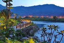 周末免费接!古典中式温泉酒店——福州溪山温泉度假酒店私享汤屋1晚+双早