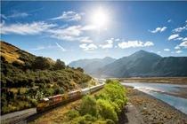 新西兰格雷茅斯至基督城阿尔卑斯丛山观光号火车票(TranzAlpine)