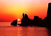 长岛两日游,宿长山渔家,游九丈崖、月牙湾、望夫礁、林海、烽山、仙境源