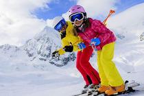神农架滑雪温泉2日游自驾双人套餐(住宿+滑雪票2张不限时滑雪含雪靴雪杖雪板)
