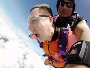 毛里求斯1万英尺高空跳伞+6天5晚五星酒店/舒适与刺激双重体验