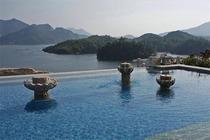 河南(住信阳茗阳汤泉国际旅游度假会议中心酒店、园景楼标准双床房、茗阳汤泉温泉