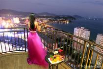 双人价三亚大东海柏瑞精品酒店豪华海景房3天2晚含早餐+门票或自驾五选一+海滩