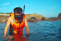 南澳岛自驾/自助深度一日游快艇出海+无人海湾浮潜+野炊品茶+收笼抓螃蟹