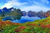 机票+吉林、长白山、地下森林、镜泊湖、吊水楼瀑布、朝鲜民俗村5日游