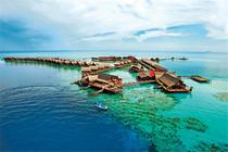 3天2晚 卡帕莱度假村 水上屋 浮潜深潜配套自由行 马来西亚 斗湖 仙本那