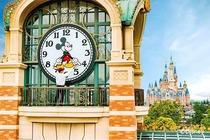亲子无限次畅游!上海迪士尼乐园2大1小2日门票+玩具总动员酒店花园景观房1晚