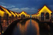 唐山月坨岛浪漫温泉之旅住1晚华清月府酒店+往返船票+温泉票+早晚餐