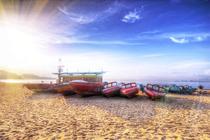 五一海边度假 看海游泳享受亚热带海滨风光!深圳大梅沙京基海湾大酒店+双人早餐
