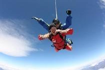 新西兰皇后镇瓦纳卡湖高空跳伞360度全景,12000/15000英尺可选