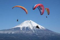 日本富士山 朝雾高原滑翔伞体验(11:00开始)