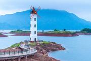 纯玩??杭州千岛湖中心湖(梅峰岛+月光岛景区)一日游?门票船票全含?主城区接