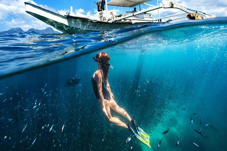 泰国0自费4晚国际五星 海岛升级独有小丽贝岛浮潜+海钓 1晚沙美岛海边度假村