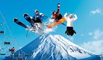 富士山二合目滑雪+富士温泉一日游东京往返 中文讲解